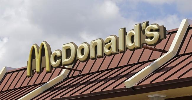McDonald's sales rise 1.3 percent at US stores