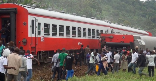 Overloaded train derails in Cameroon, killing at least 53