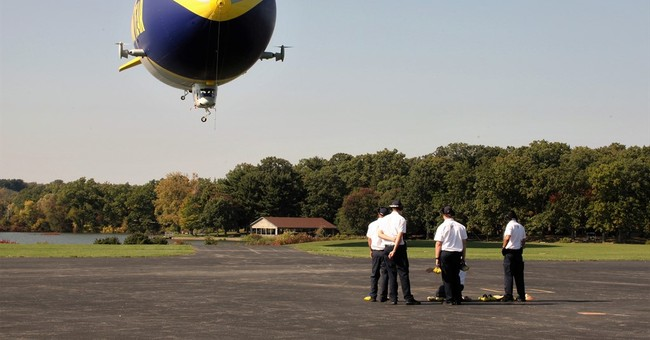Goodyear christening 2nd airship in fleet replacing blimps
