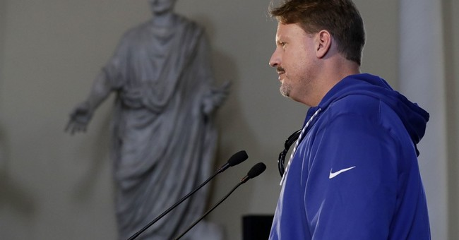 NFL puts Giants' Brown on 'exempt' list pending abuse probe