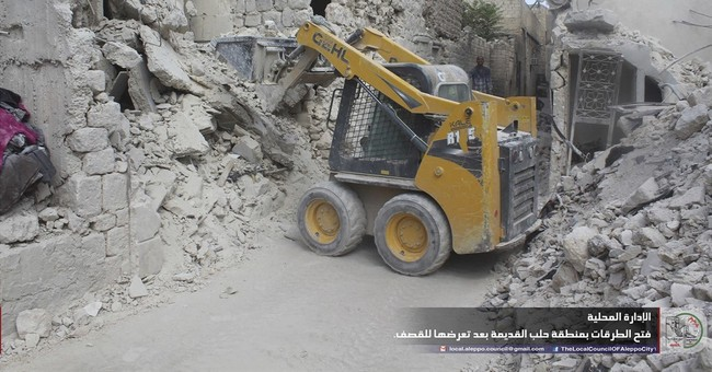 In Aleppo, jewel of Syrian rebellion faces possible collapse