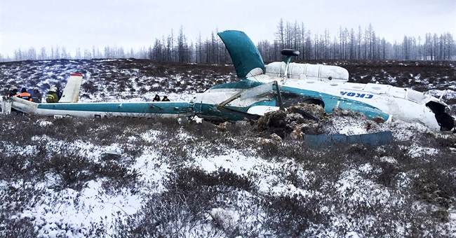 19 die as helicopter carrying oil workers crashes in Russia