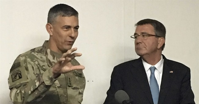 Pentagon chief in Irbil for closer assessment of Mosul fight
