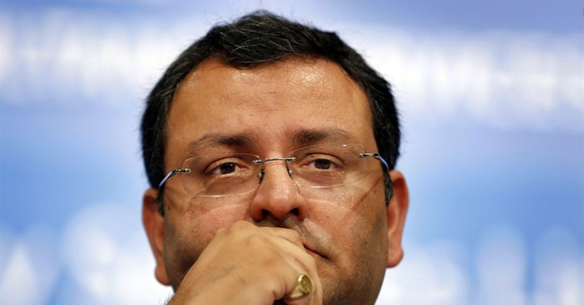 Indian business giant Tata Sons removes chairman Mistry