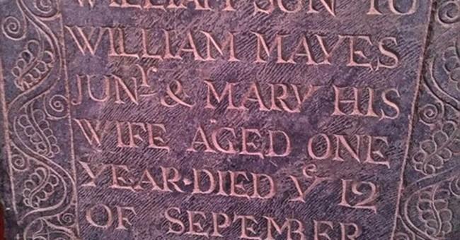 Centuries-old gravestones found, returned to cemetery