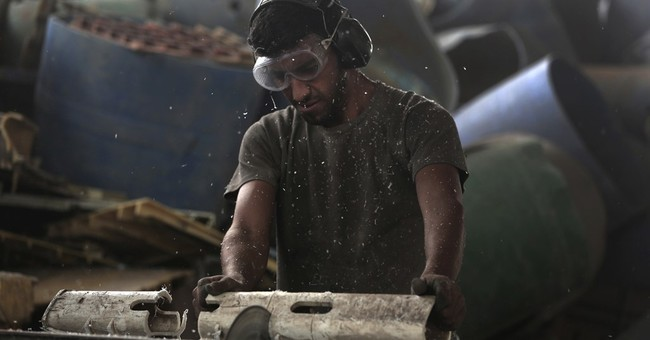 Struggling Gaza factory turns to recycling to survive