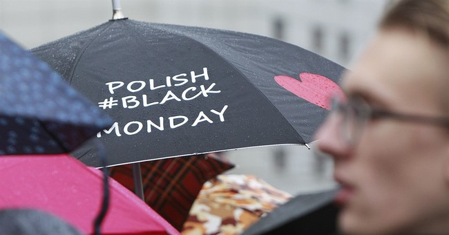 Poles protest plan to ban abortion of unviable fetuses