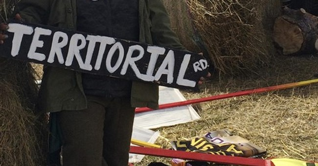 With treaty claim, pipeline protesters move to private land