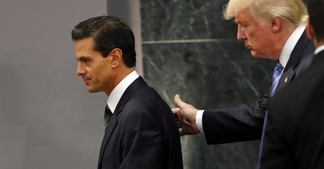 "Pena Nieto: No president thinks ""how do I screw Mexico?"""