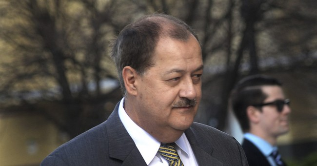 Jailed coal CEO wants misdemeanor overturned in deadly blast