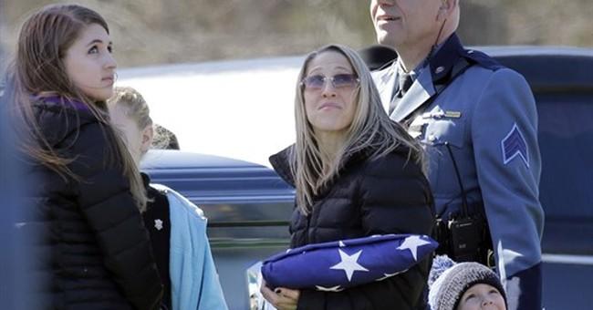 Trooper's widow urges a 'no' vote on legalizing marijuana
