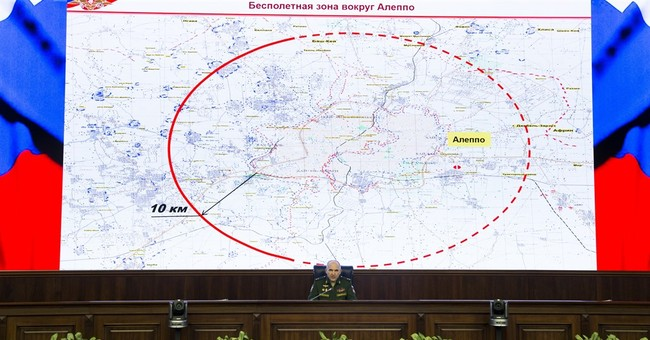 Russia: Halt of airstrikes on Aleppo to continue