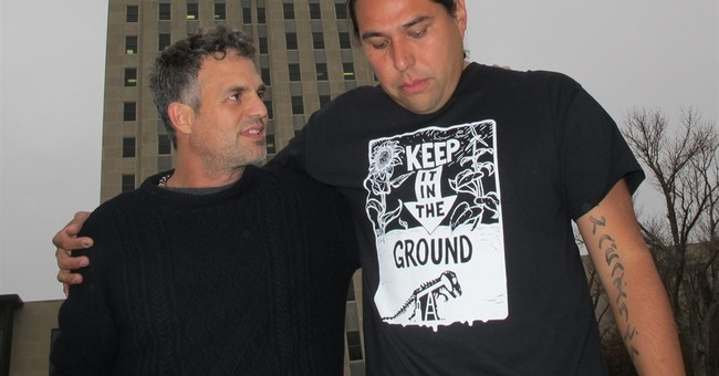 Actor Mark Ruffalo in North Dakota to oppose oil pipeline