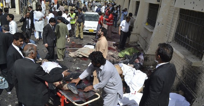 Major militant attacks in Pakistan over the past 3 years
