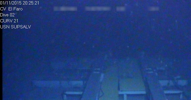 NTSB releases photos showing El Faro in final resting place