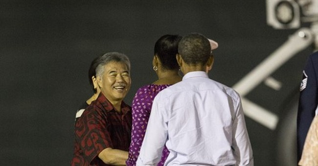 The Latest: Obamas leave Hawaii for Washington