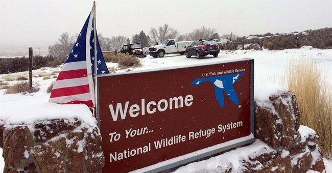 The Latest:  Bundy says protesters want local land control
