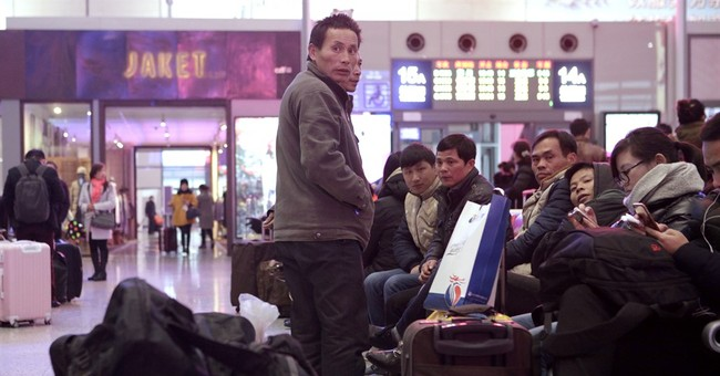 China braces for 2.9 billion trips made during New Year