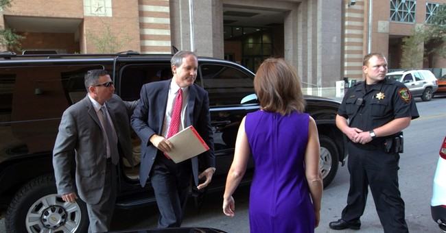 Money in politics fight over indicted Texas attorney general
