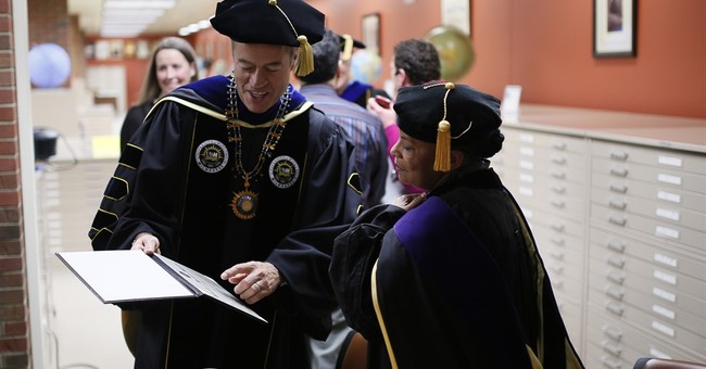 Ex-justice minister of France accepts honorary degree in US