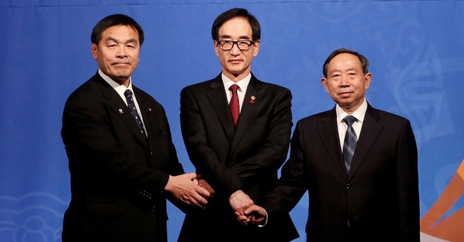 S. Korea, Japan, China education ministers meet for 1st time