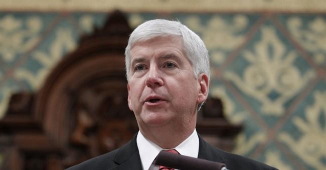 APNewsBreak: Snyder plans $30M credit for Flint customers