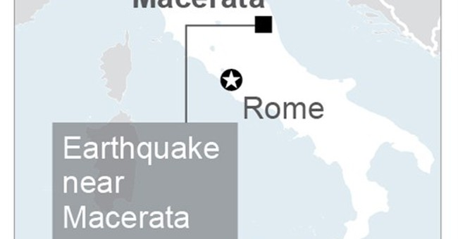 Mayor: Heavy structural damage from quake in Ussita, Italy