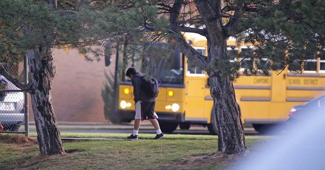 Utah police probing how teen got gun in shooting near school