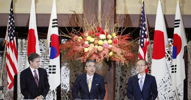 Japan, US, S. Korea agree to step up pressure on N. Korea
