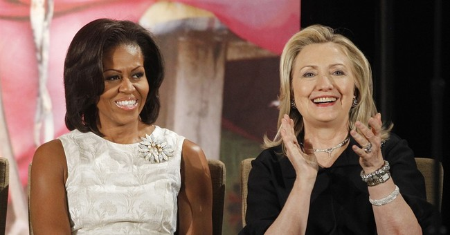 Clinton and Obama: First ladies form political odd couple