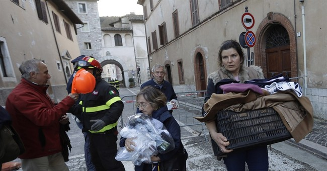 Officials in quake-ridden central Italy assess damage
