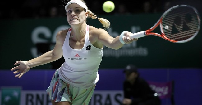 Kerber savoring her rise to the top of women's tennis