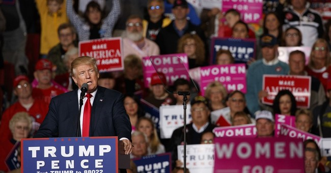 AP-GfK Poll: Most believe allegations about Trump and women