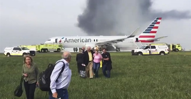 Pieces flew thousands of feet from Chicago plane on fire