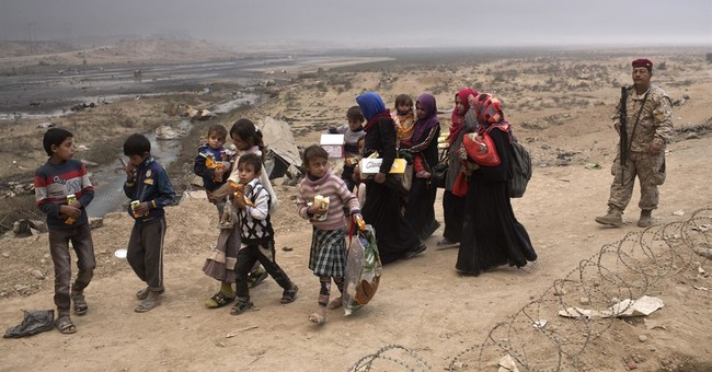 UN has reports IS using 1,000s as 'human shields' in Mosul