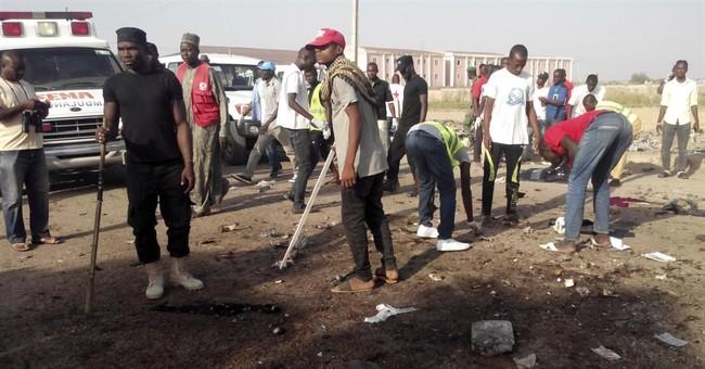 Witnesses: Bomb blasts kill 9 in northeastern Nigerian city