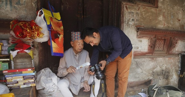 Nepal storyteller uses photos and few lines to reveal lives