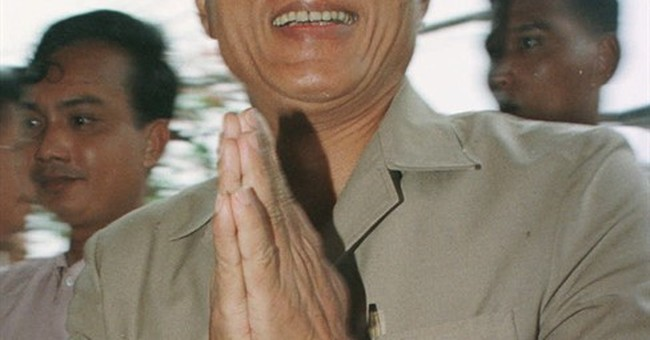 Cambodia's first post-Khmer Rouge prime minister dies at 80