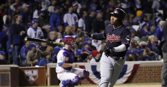 Chapman, Cubs stop Indians, cut World Series deficit to 3-2