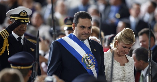 Prosecutors in El Salvador search ex-president's businesses