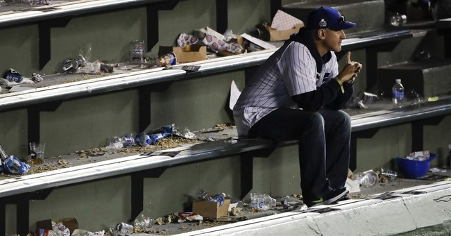 The Latest: Chapman, Cubs top Indians 3-2 to force Game 6