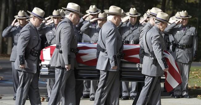 Daughter calls fallen state trooper father 'hero of heroes'
