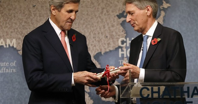 Kerry, UK foreign secretary host meeting on Libya stalemate