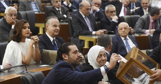 Lebanon's 2 major parties back Hariri for PM