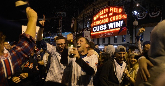 How do Cubs fans spell relief? W-I-N in the World Series