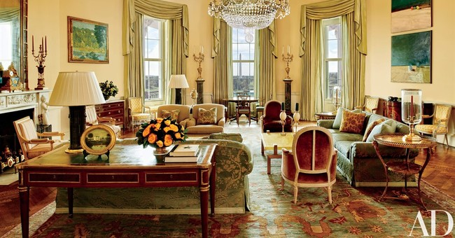 Obama reveals private living areas of White House