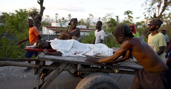 Boy killed in Haiti amid protest over delay in hurricane aid