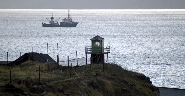 Top official says Russia won't give up disputed islands