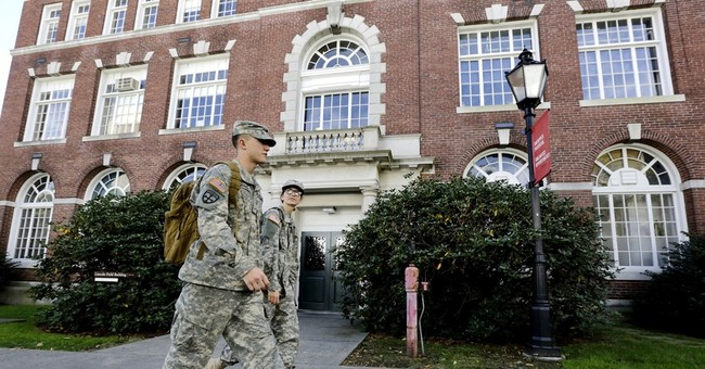 Veterans in the Ivy League: Students seek to up their ranks