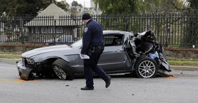 Both bus drivers among 6 killed in 2-bus Baltimore crash